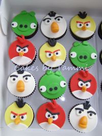 Angry Birds Cupcakes | Kid Party Ideas | Pinterest | Angry ...