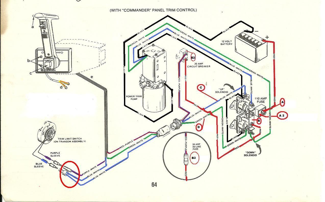 mercruiser 3 0 wiring diagram chevy s10 starter trim solenoid yahoo image