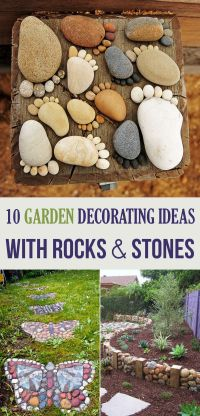 10 Garden Decorating Ideas with Rocks and Stones | Stone ...
