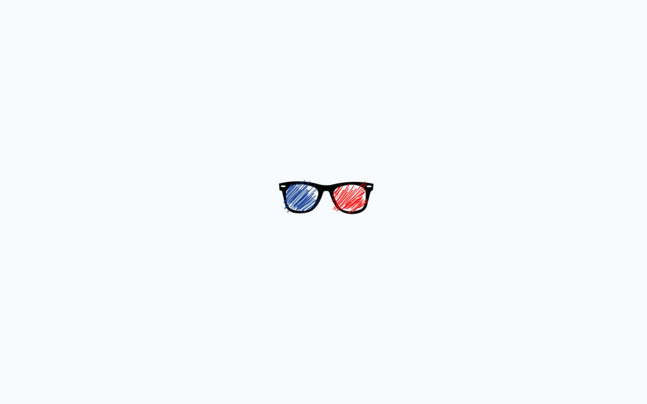 Desktop Wallpaper Minimalist Gilmore Girls 3d Glasses Desktop Wallpaper By Alex Roman Tech