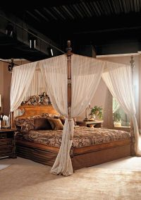 Italian & French Country Collection :: Canopy Bed | Canopy ...