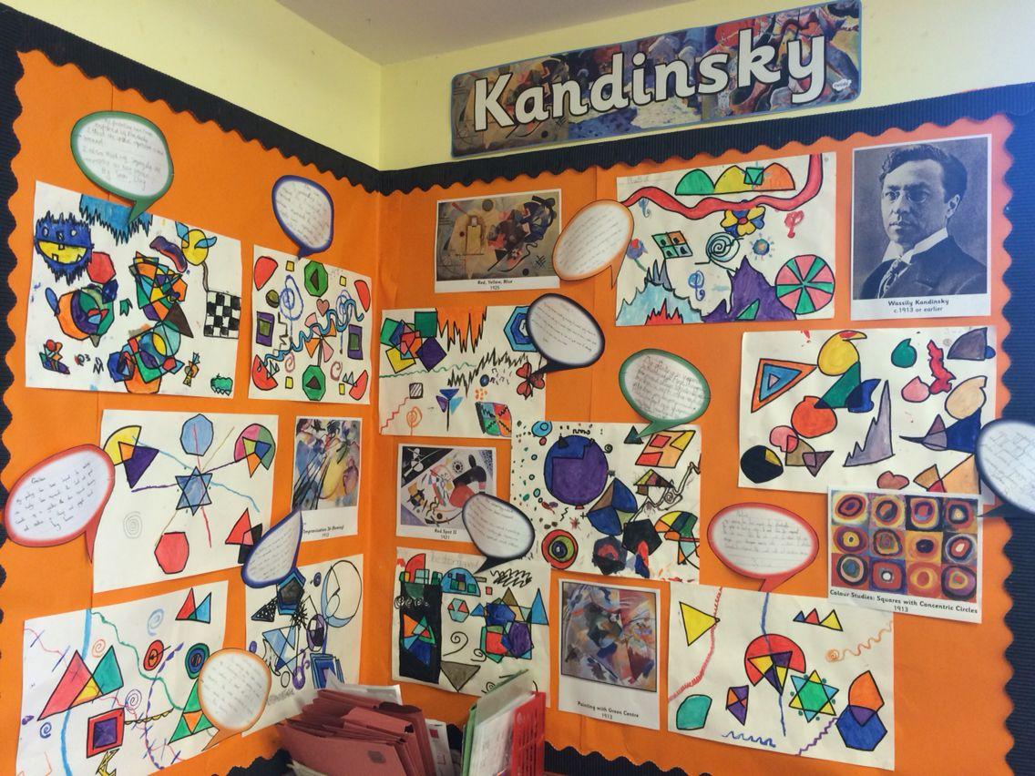 Kandinsky Art Display Ks2