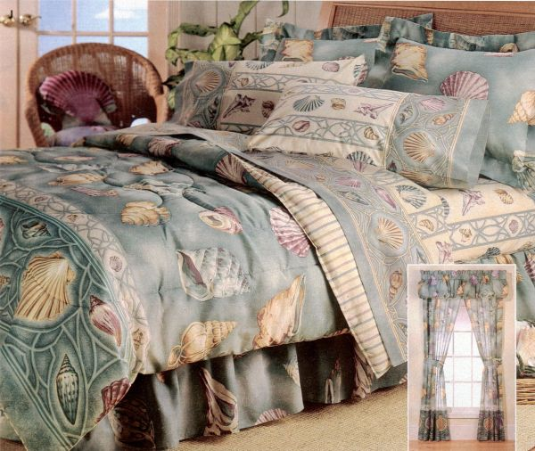 Seashell Comforter Set Seaside Inspiration
