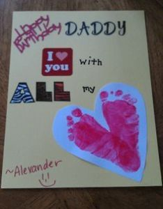 Homemade Birthday Cards For Dad From Toddler Google Search Also Cake Kat Cakes Dads Rh