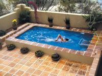 for small backyards, Inground pools for small yards ...
