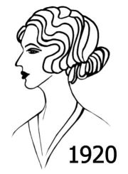 hairstyle 1920 1920s