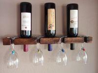 Easy Diy Wine Rack  | Pinteres