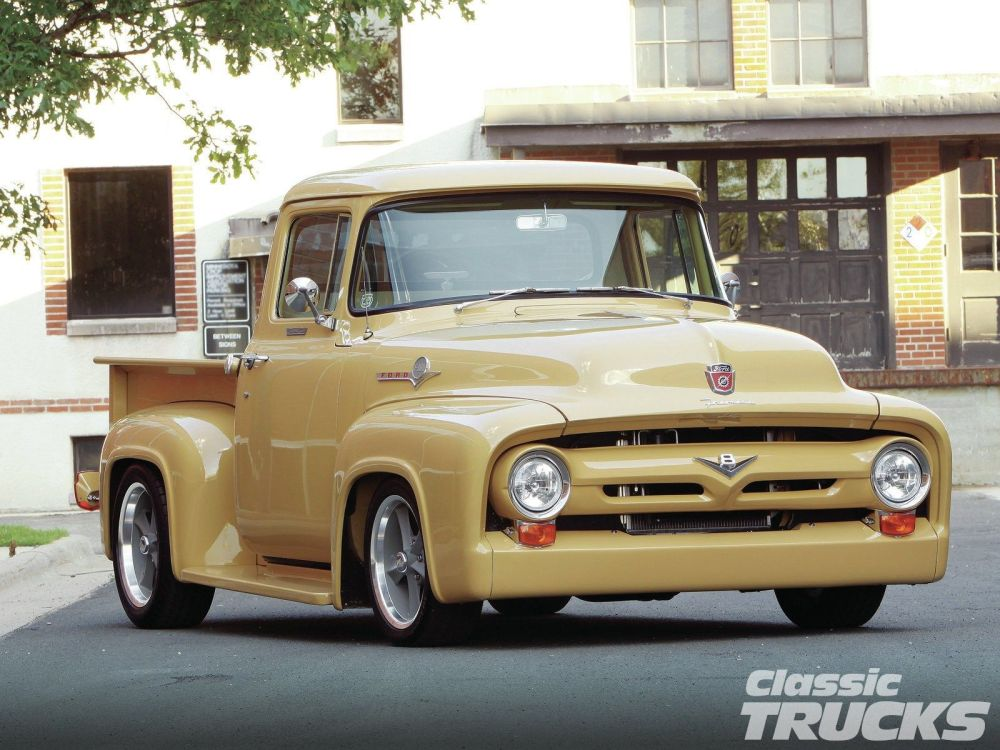 medium resolution of 1600x1200 hq res 1956 ford f 100