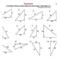 Trigonometry worksheets. | Trigonometry | Pinterest ...