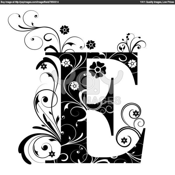 Calligraphy letter E Calligraphy Pinterest