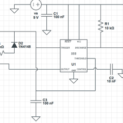 Turn Signal Crossword Human Arterial And Venous System Diagram Here Is A Very Simple Ic 555 Oscillator That Generates Pwm Signal. In This Case, I Am Using ...