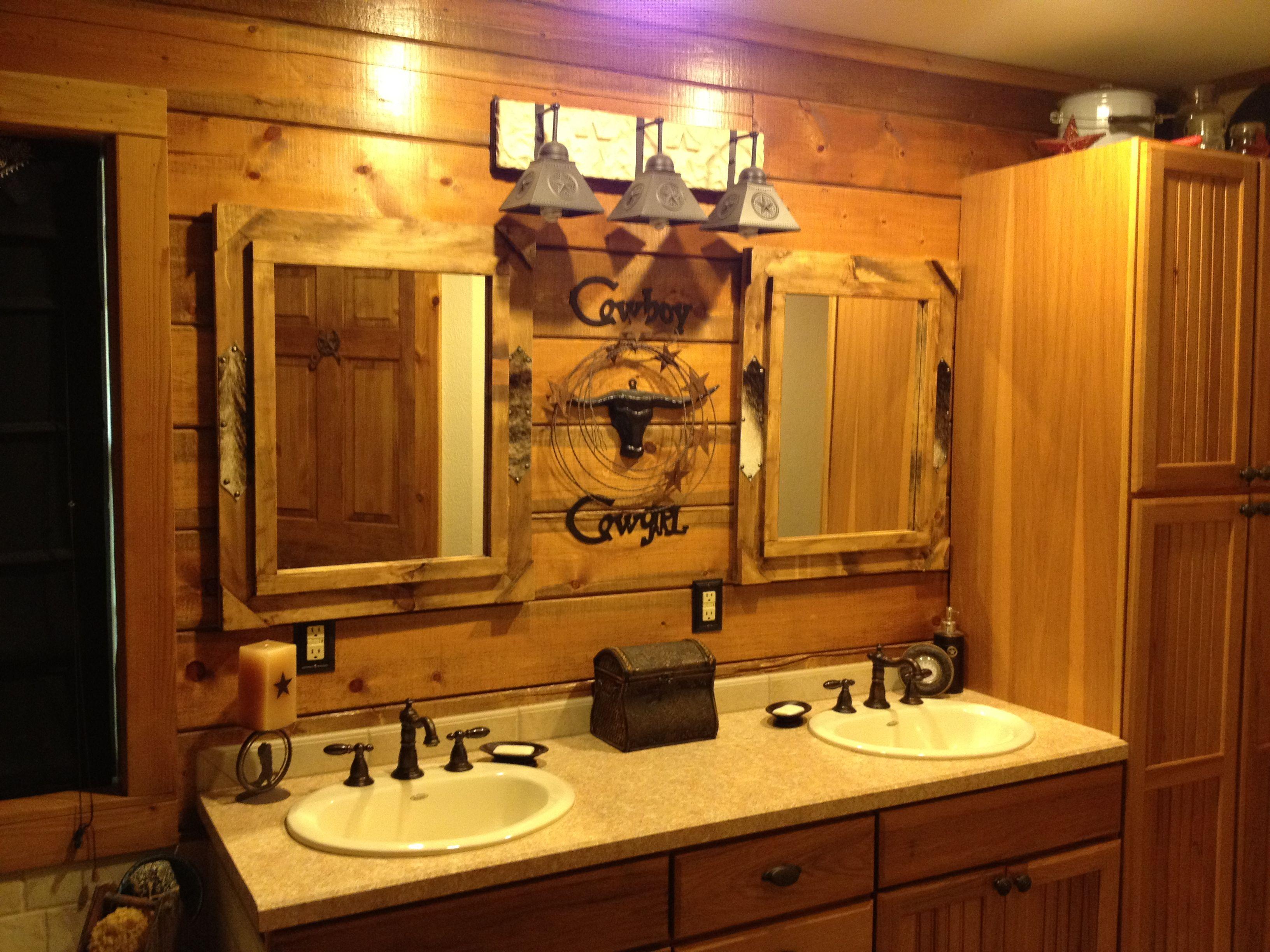 Rustic Bathroom Décor