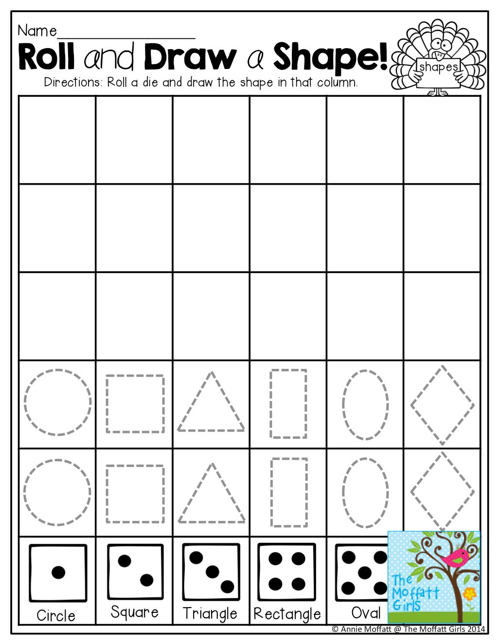 November No Prep Math And Literacy Kindergarten
