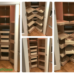 Pull Out Shelves For Kitchen How To Design A Island Pantry Shelving Shelfgenie Custom