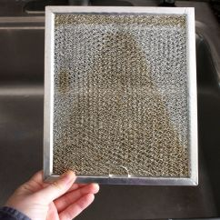 What To Clean Grease Off Kitchen Cabinets Funnels How Chimney  Wow Blog