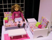 American Girl Doll Furniture Living Room
