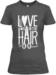 love in hair