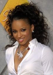 curly weave hairstyles black
