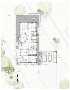 Gallery of bo house plan  arquitectos floor drawingdrawing plansarchitecture also architecture rh pinterest