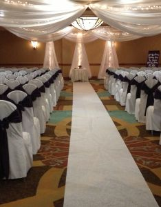 Indoor wedding ceremony decor also pinterest rh