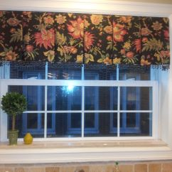 Window Treatments Kitchen French Country Style Accessories Box Pleated Valance