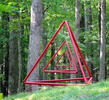 Ashbee Design Sculpture Collaboration Week • 2009 PVC Garden