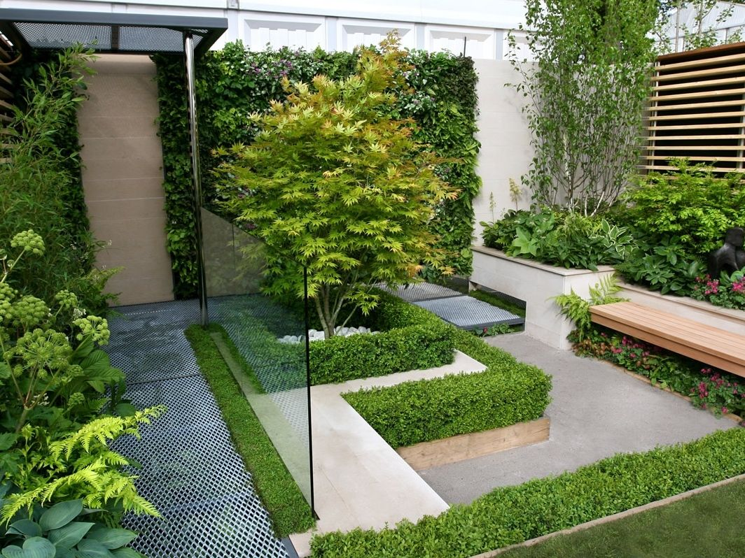 Modern House Garden Design Of Modern Garden Ign Modern House With