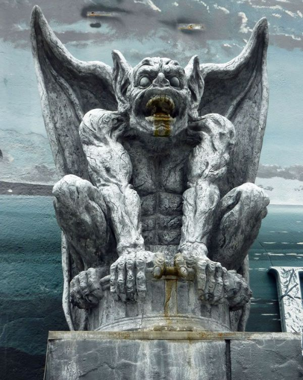 Gargoyle On the Boardwalk Santa Cruz