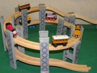 BRIO/ELC SPIRAL ELEVATED PLAYSET includes TRACKS for ...