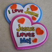 Image result for I heart jesus craft
