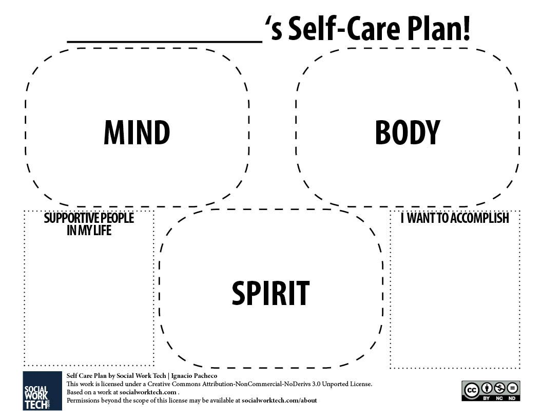 Making A Self Care Plan For You And Your Clients
