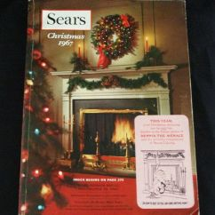 Merry Christmas Chair Covers Best Massage Consumer Reports Vintage 1967 Sears Roebuck & Company Catalog | Ebay Sales Pinterest ...