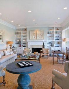 Beach theme living room ideas traditional family interior design house also rh pinterest