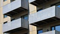 images balconies with perforated metal - Google Search ...