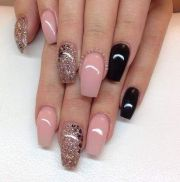 long square nails design ideas