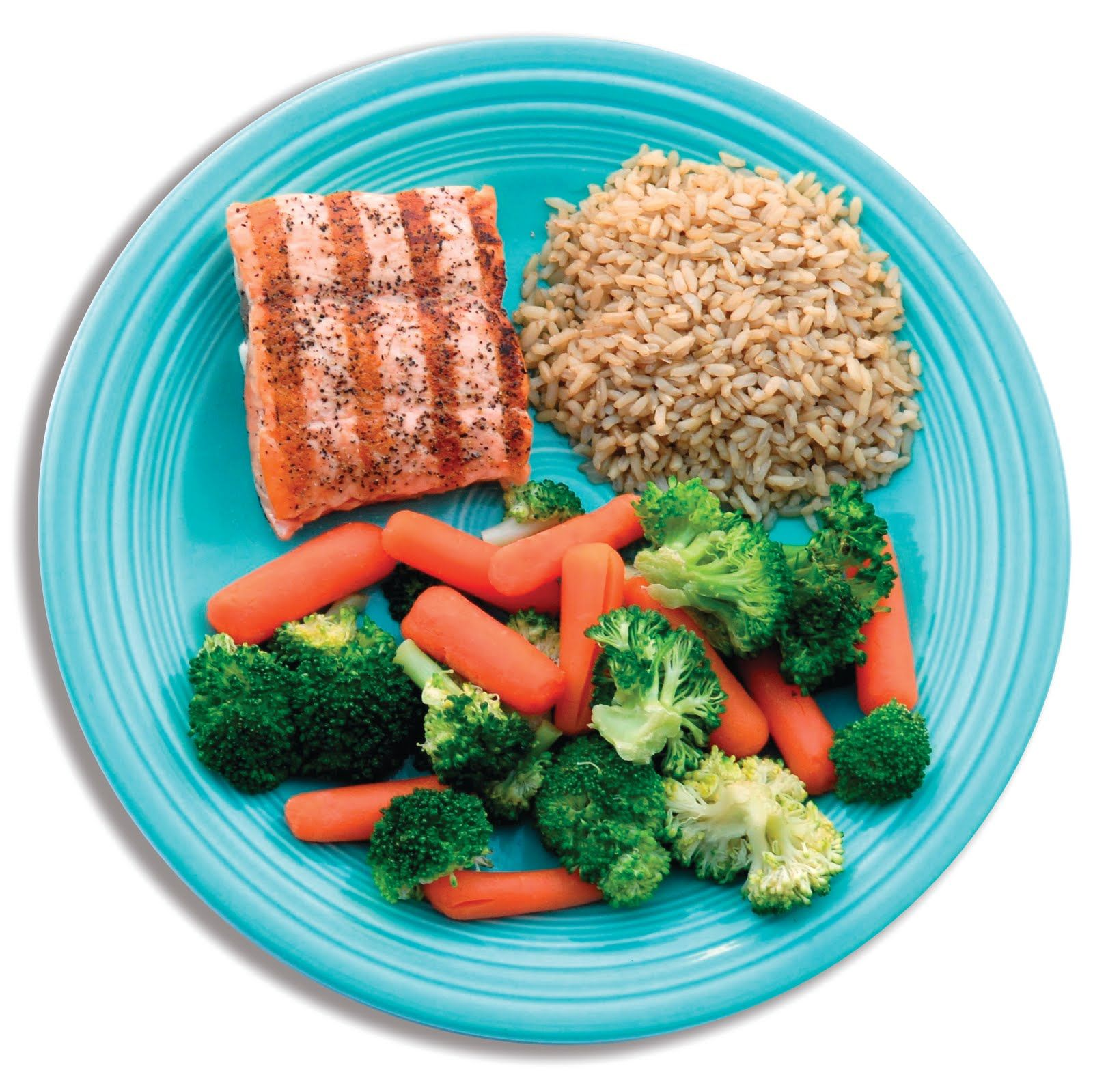 Healthy Plate Of Food