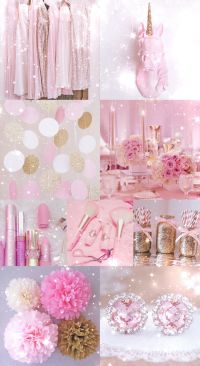 pink, gold, wallpaper, background, hd, iPhone, glitter ...