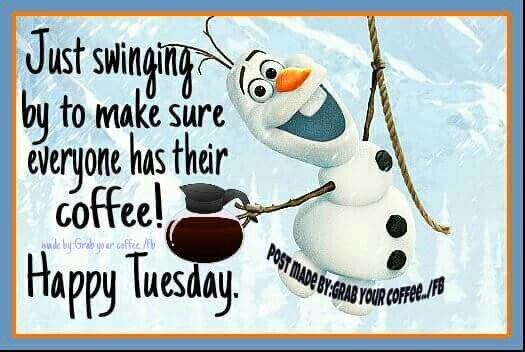 Funny Happy Tuesday Coffee