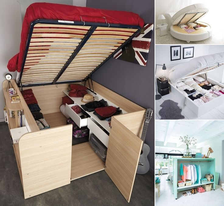 Image Result For Clever Under Bed Storage Ideas Tiny House