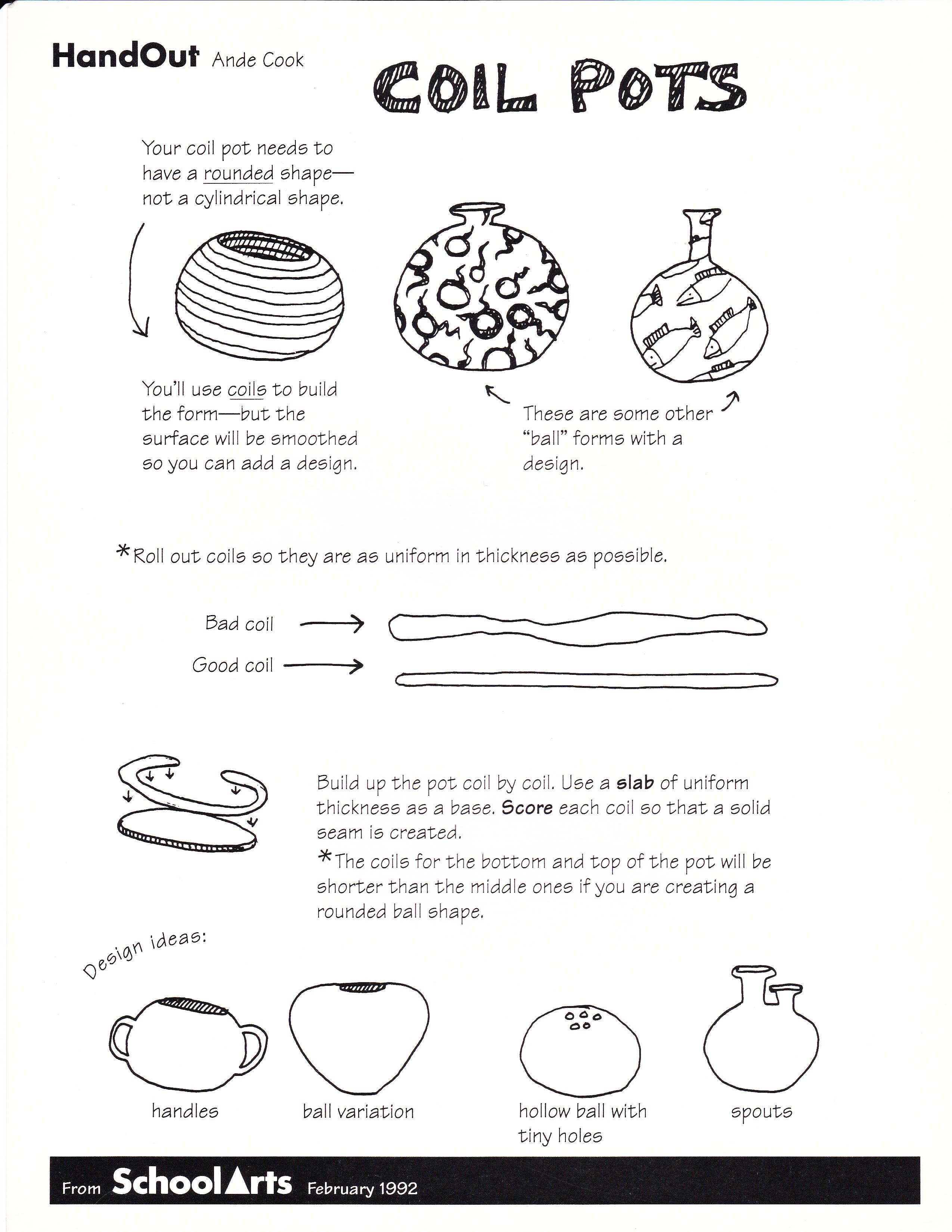Clay Jar Coloring Pages