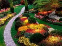 slanted yard landscaping and storage | to landscape design ...