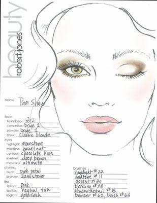 Makeup face template makeupview makeup face template google search make up looks cosmetics maxwellsz