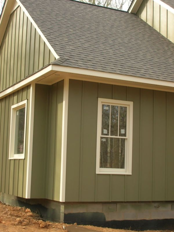 Houses with Board and Batten Siding
