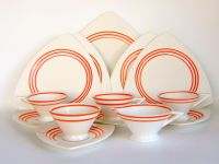 Atomic Art Deco Dinnerware: Vintage Salem China ...