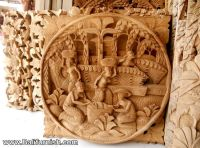 Story Boards Hand Carved Wood Wall Panel Decoration ...