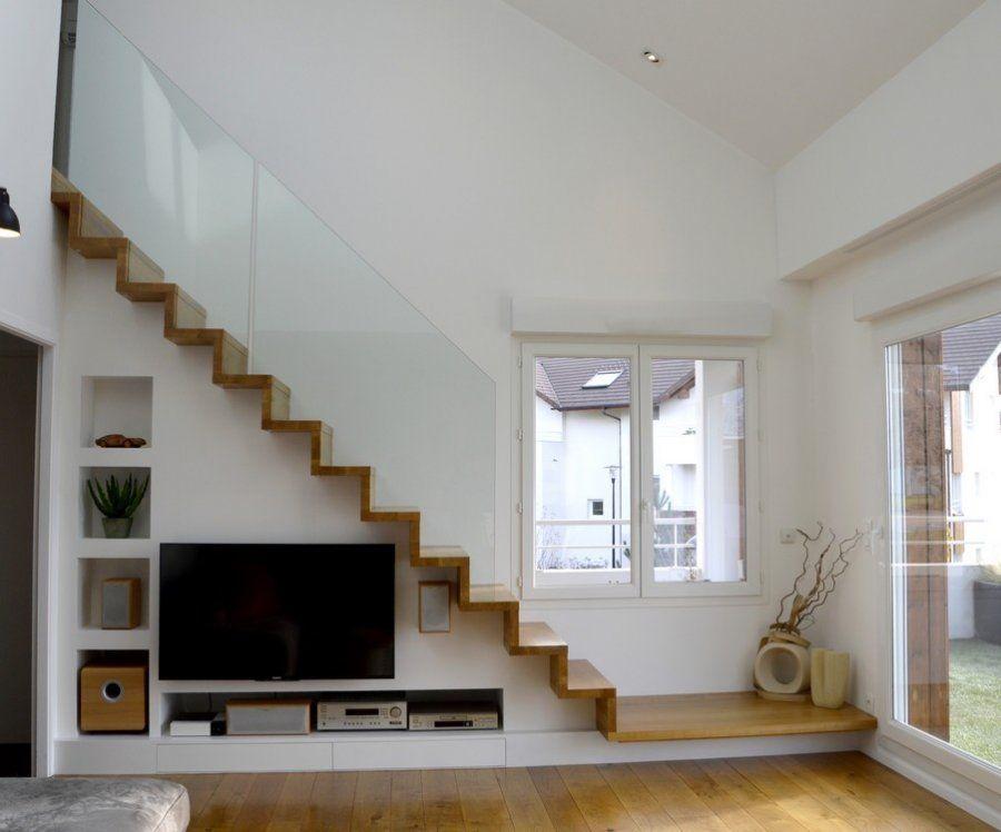 Escalier Ouvert Salon
