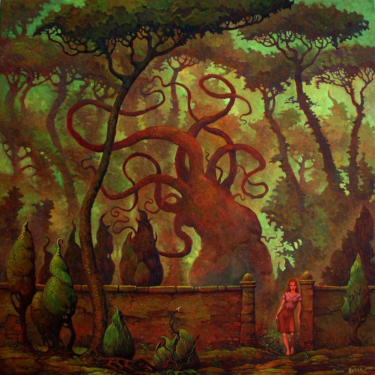 Monster World Garten Alter Garten Old Garden By Michael Hutter Where
