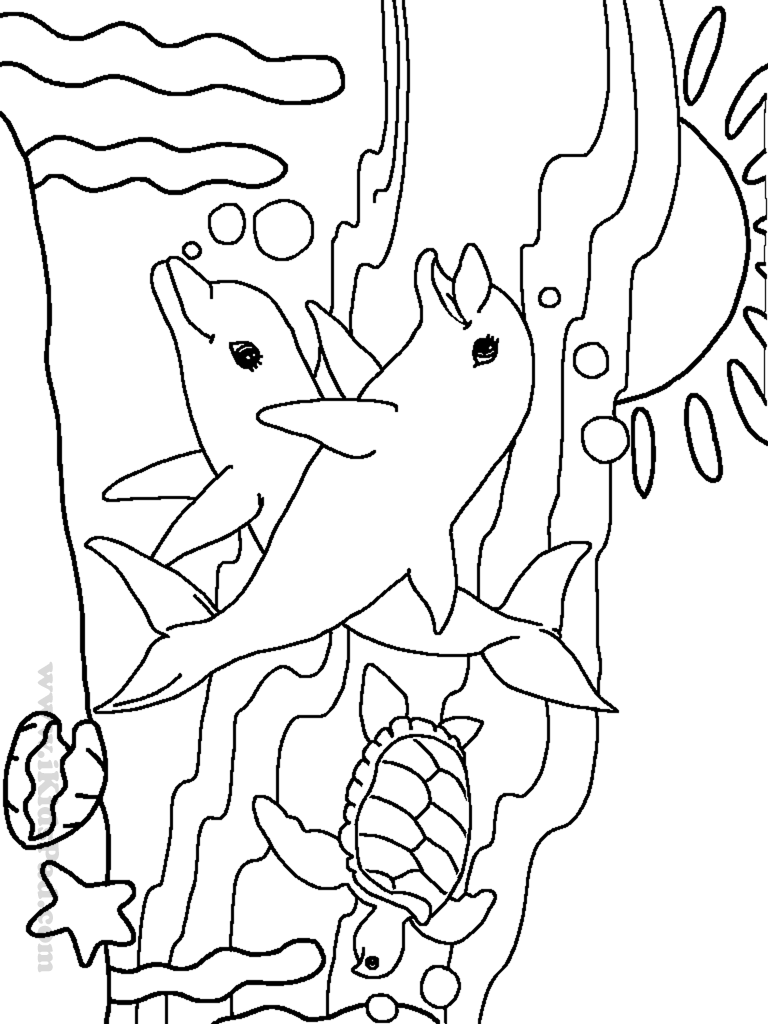 Beautiful Sea Animal Coloring Pages 30 On Coloring Pages