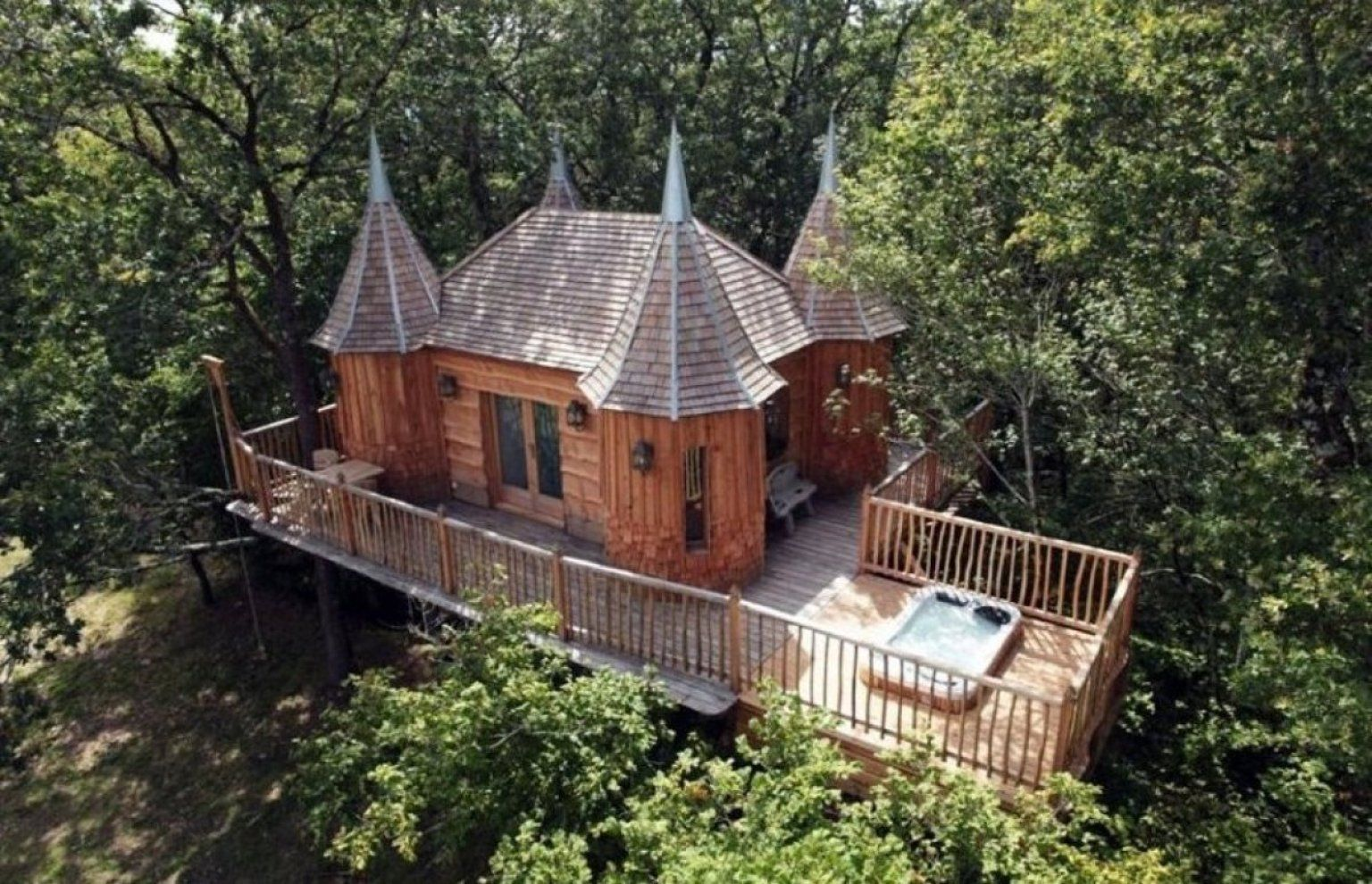 Now That's How To Enjoy The High Life The Luxury Tree Houses That
