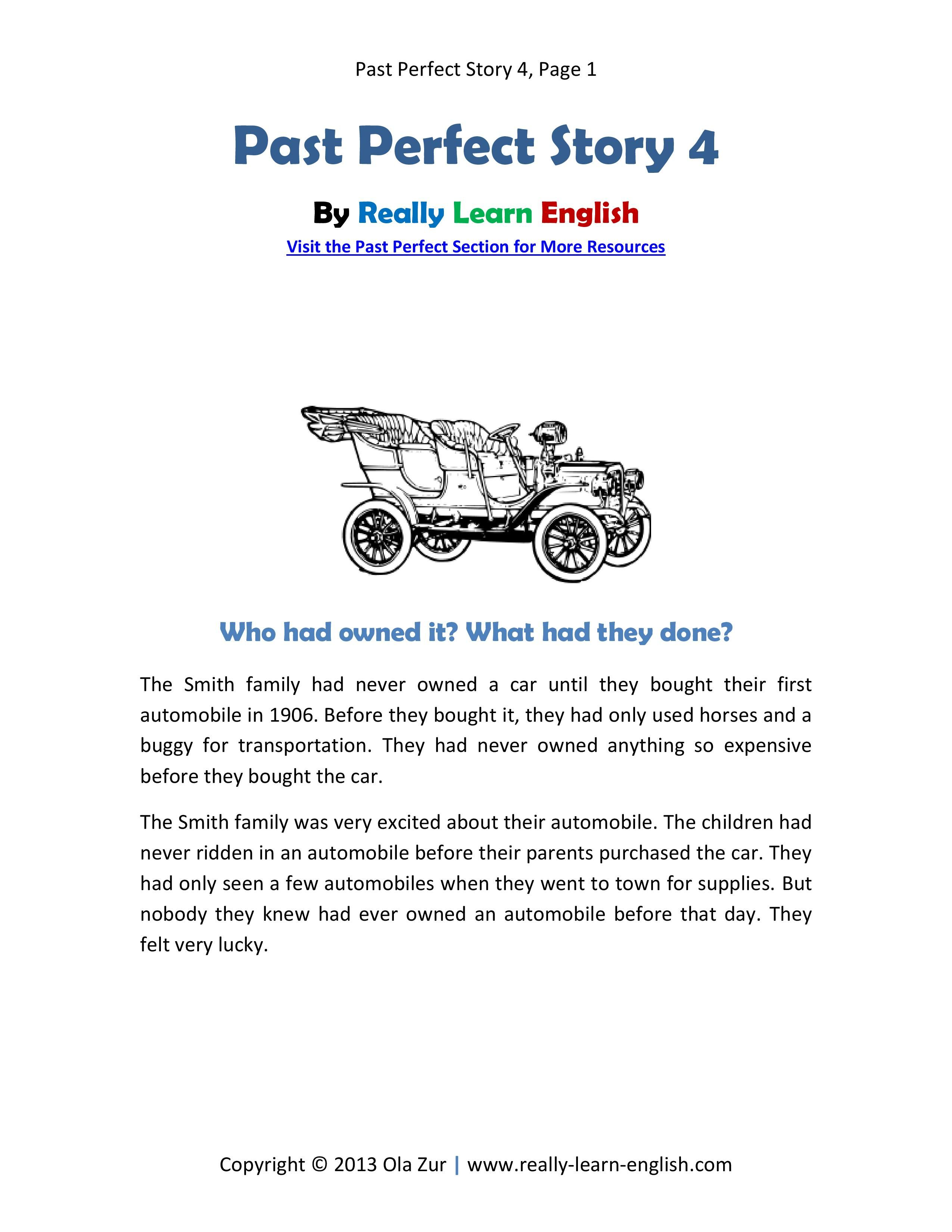 Short Story For Kids Learn English
